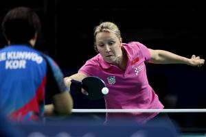 Table tennis sports icon - horizontal