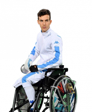 Emanuele Lambertini - Paralympic Athlete of the Month October 2016