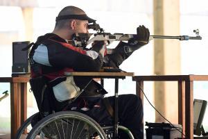 IPC Shooting sports icon - horizontal
