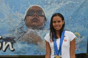 Maria Paula Barrera - Paralympic Athlete of the Month March 2017