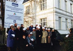 Historic photo of members of the IPC