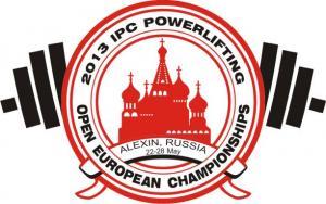 logo of the 2013 IPC Powerlifting Open European Championships