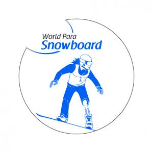 The official logo of World Para Snowboard