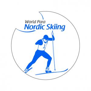 The official logo of World Para Nordic skiing