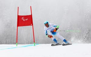 Markus Salcher - Paralympic Athlete of the Month January 2014