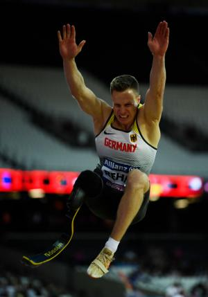 Markus Rehm - Paralympic Athlete of the Month July 2014