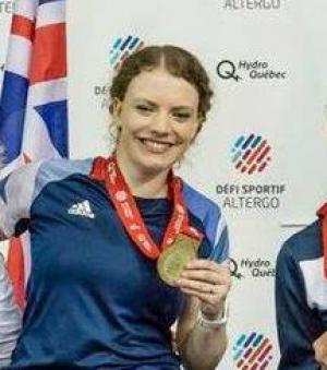 Gemma Collis-McCann - Paralympic Athlete of the Month March 2018