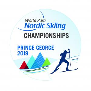the official logo of the Prince George 2019 World Para Nordic Skiing Championships