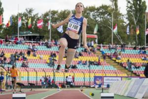 History maker: France's Marie-Amelie le Fur became the first woman to long jump six metres at Berlin 2018