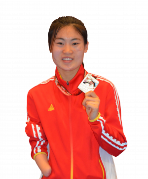 Yujie Li - Paralympic Athlete of the Month February 2019