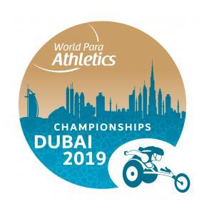 the official logo of the Dubai 2019 World Para Athletics Championships