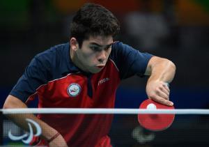 Matias Nicolas Pino Lorca - Paralympic Athlete of the Month November 2016