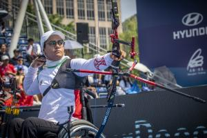 Zahra Nemati  - Paralympic Athlete of the Month November 2015