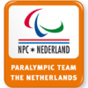 Logo National Paralympic Committee of the Netherlands.
