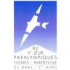 'Tignes-Albertville 1992' logo