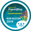 'Nur-Sultan 2019' logo